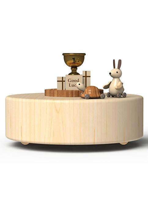 Wooderful Life Tavşan ve Kaplumbağa Müzik Kutusu Renkli